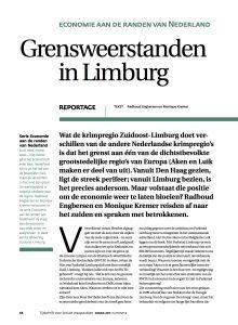 Grensweerstanden in Limburg. Economie aan de randen van Nederland