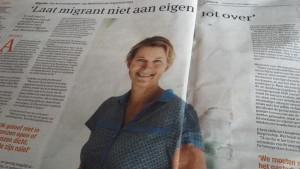 'Laat migrant niet aan eigen lot over'