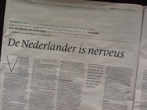 'De Nederlander is nerveus'. Interview Trouw