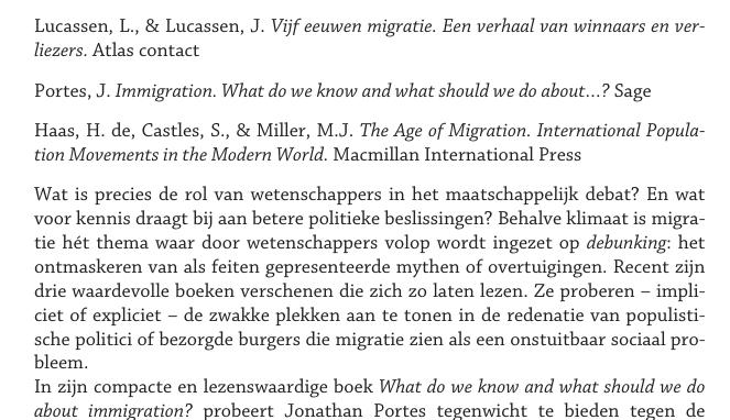Het nut van wetenschappelijke debunking van migratiemythen